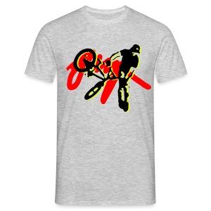 jump bmx - Men's T-Shirt