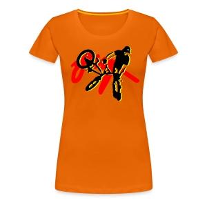 jump bmx - Women's Premium T-Shirt