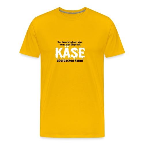 Liebe Käse backen Grill Ofen Herd Küche Toast Amor - Männer Premium T-Shirt
