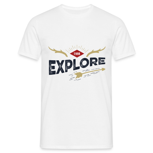 Outdoor explore - T-shirt Homme