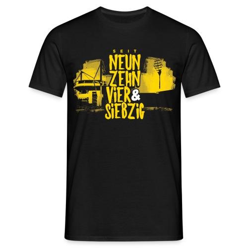 NEUNZEHNVIERZ&SIEBZIG SHIRT  - Männer T-Shirt