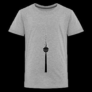 Fernsehturm Berlin 2 - Teenager Premium T-Shirt