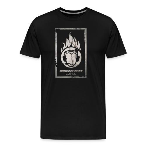 T-Shirt #Bunkerforce-Beton - Männer Premium T-Shirt