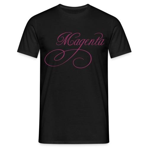 ZVETA Magenta glitzer - Männer T-Shirt
