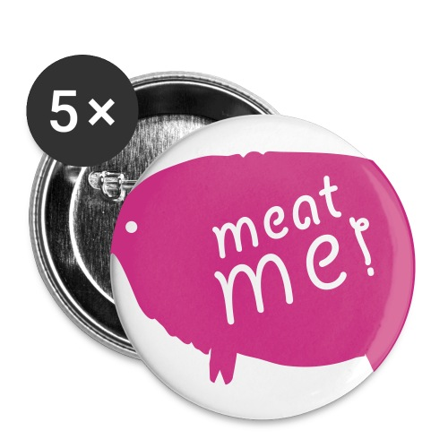 meat me badge - Buttons small 25 mm
