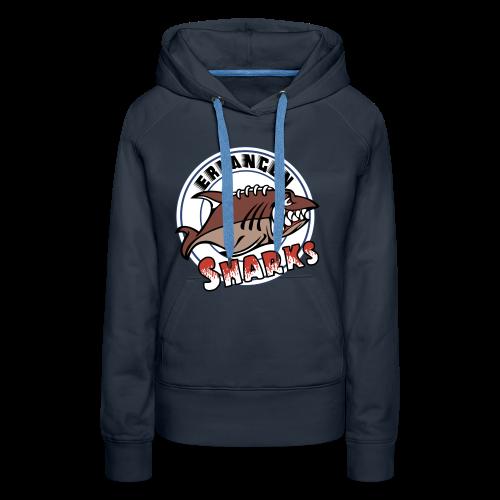 Erlangen Sharks Color Hoodie (w, navy) - Frauen Premium Hoodie
