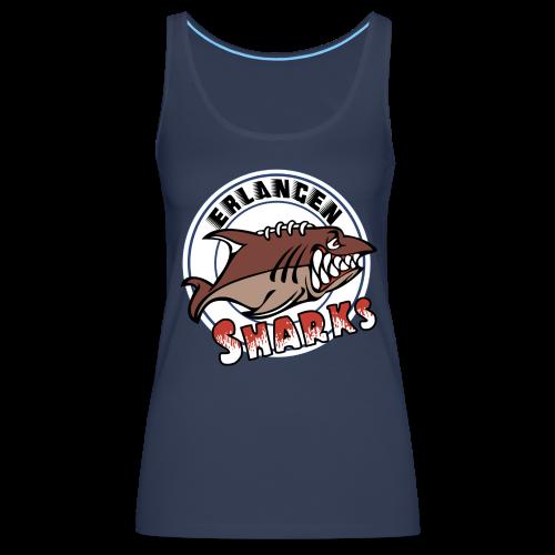 Erlangen Sharks Color Tank-Top (w, navy) - Frauen Premium Tank Top