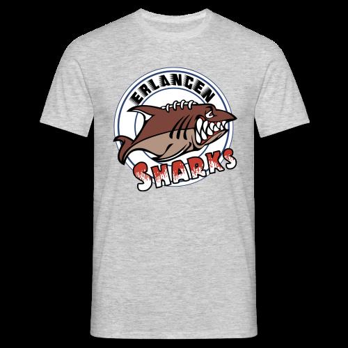 Erlangen Sharks Color T-Shirt (m, grau) - Männer T-Shirt