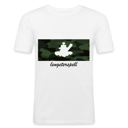 T-Shirt Camouflage-Logo - Männer Slim Fit T-Shirt