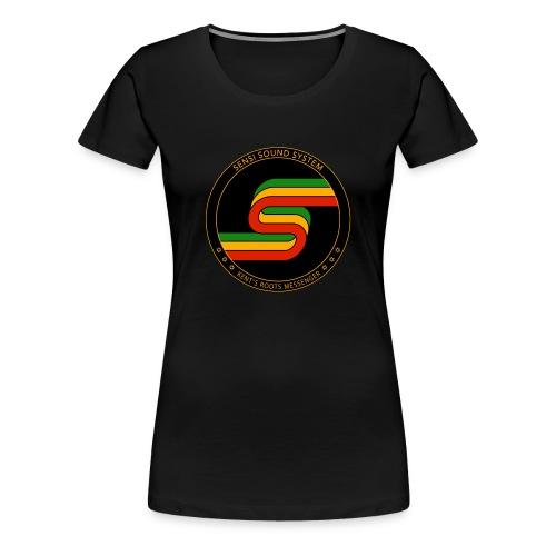 Ladies Sensi Sound System Logo T-shirt - Women's Premium T-Shirt
