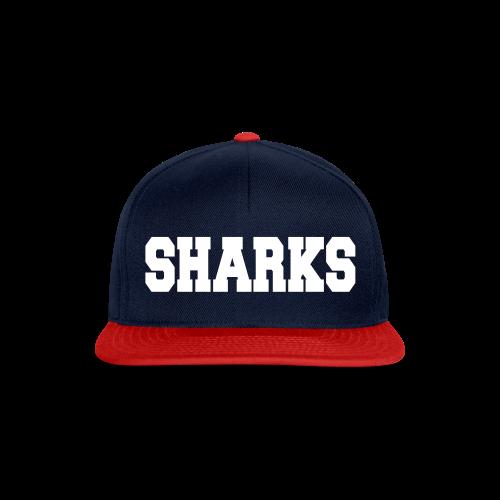Snapback Cap Sharks (navy/rot/weiß) - Snapback Cap