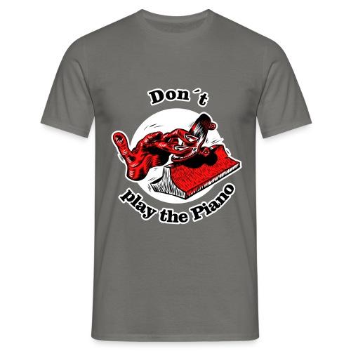 Finger-Skateboarding T-Shirt - Männer T-Shirt