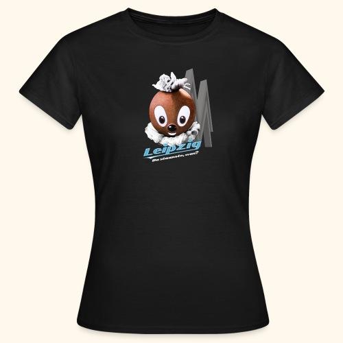 Frauen T-Shirt Pittiplatsch Leipzig dk - Frauen T-Shirt