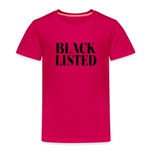 BlackListed - T-shirt Premium Enfant