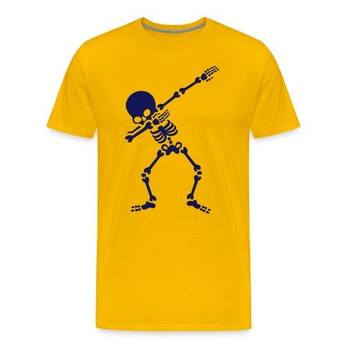 tanzendes Skelett - Männer Premium T-Shirt
