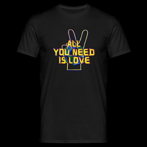 LOVE-KB.S3 -318-3.5-M - Männer T-Shirt