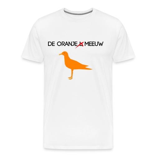 De oranje L.. eeh.. Meeuw T-shirt - Mannen Premium T-shirt