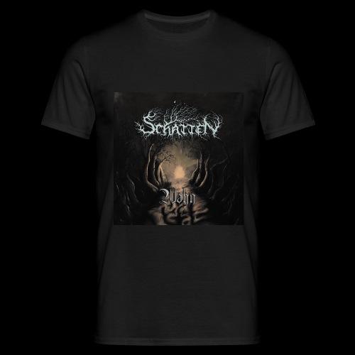 Schatten Wahn Album Cover - Männer T-Shirt