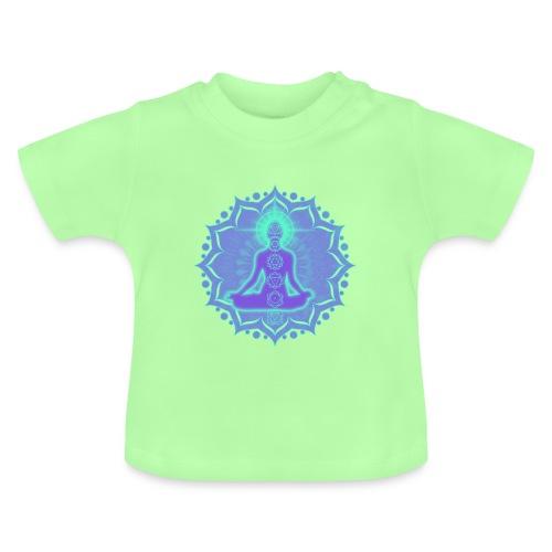 Yoga Lotus Meditation Chakren II - Baby T-Shirt