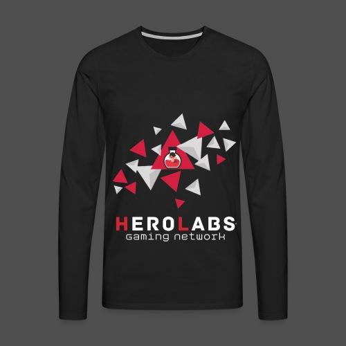 Be a Hero Langarmshirt Männer - Männer Premium Langarmshirt
