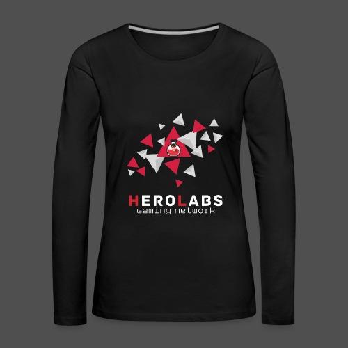 Be a Hero Langarmshirt Frauen - Frauen Premium Langarmshirt