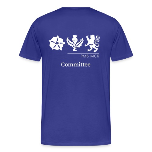 NEW Men's Polo with Name (front) & Position (back) - Men's Premium T-Shirt