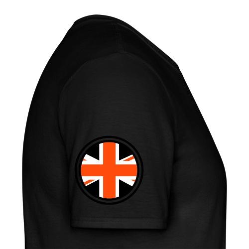 Invictus Racing League - Black Shirt - Sargent009 - Men's T-Shirt