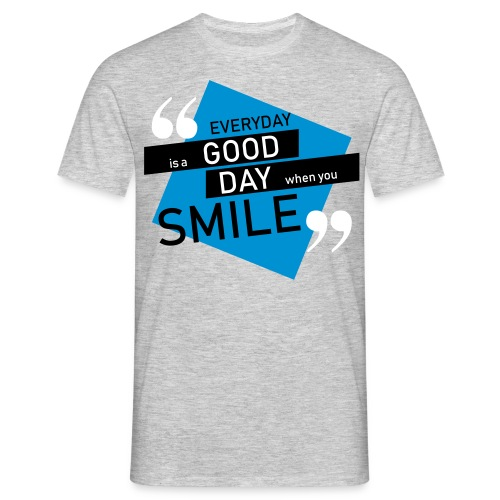Smile - men - Männer T-Shirt