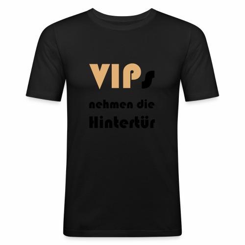 VIP Männer T-Shirt - Männer Slim Fit T-Shirt