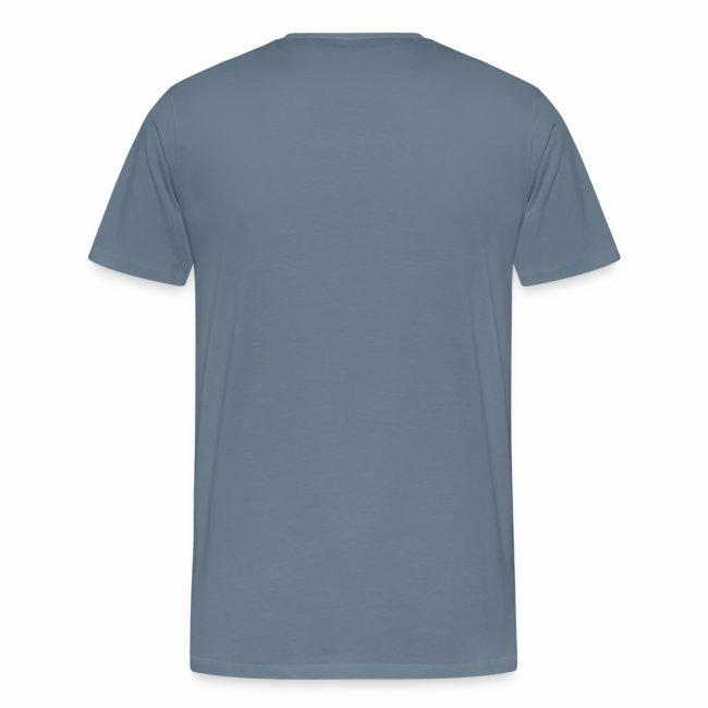 """""""schwul"""" Lautschrift Männer T-Shirt"""