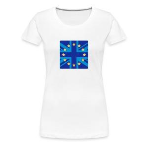 Euro UK Female - Women's Premium T-Shirt