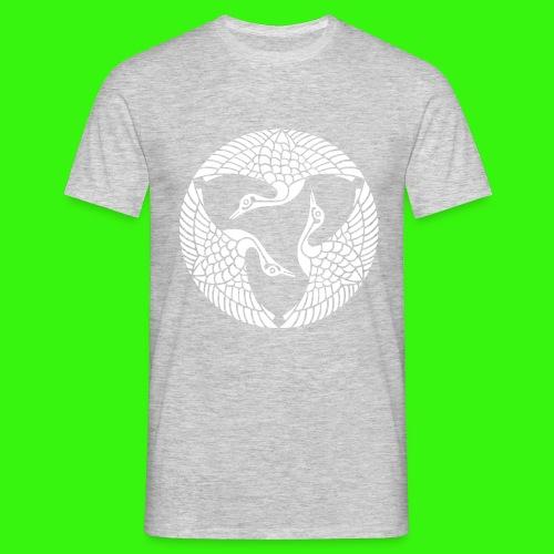 Drei Kraniche - Männer T-Shirt
