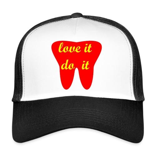 Motivation Cap - love it do it - Trucker Cap