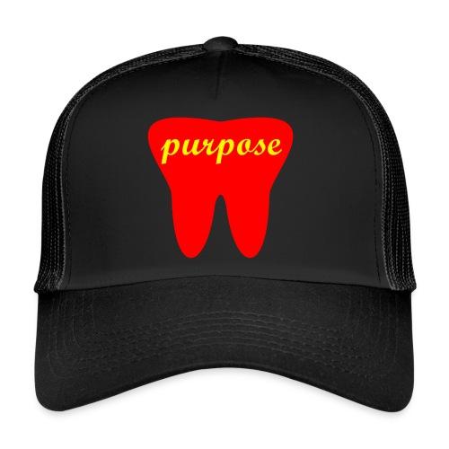 Motivation Cap - purpose (black) - Trucker Cap