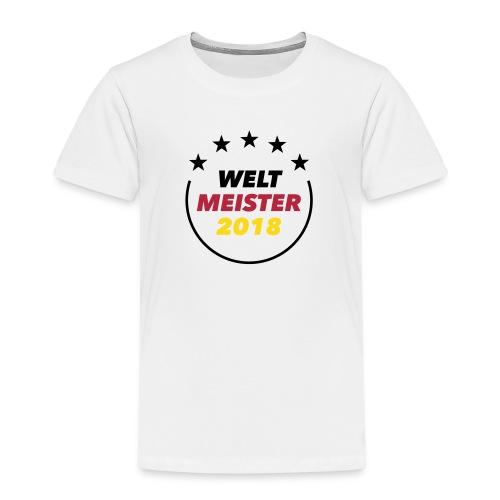 Weltmeister T-Shirt - Kinder Premium T-Shirt