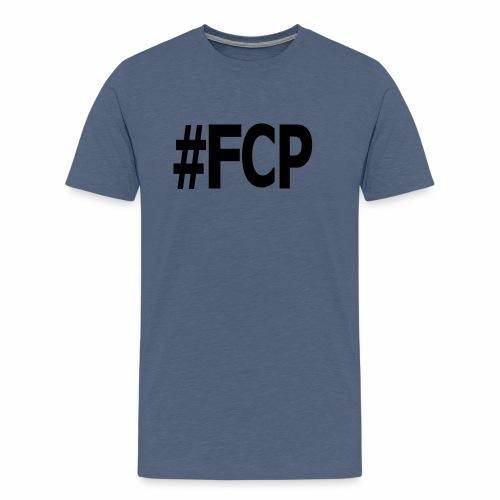 #FCP (Männer T-Shirt, Schrift: schwarz) - Männer Premium T-Shirt
