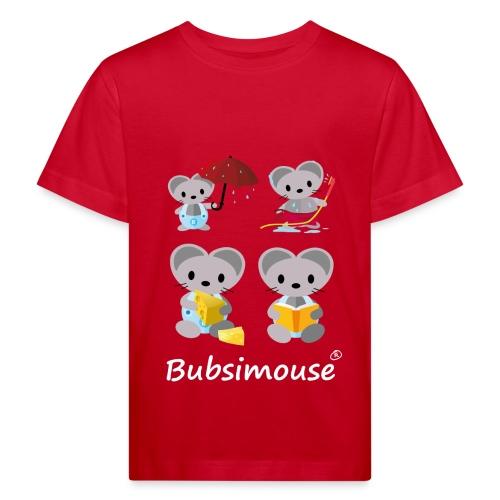 Bubsimaus Shirt für Kinder - Kinder Bio-T-Shirt