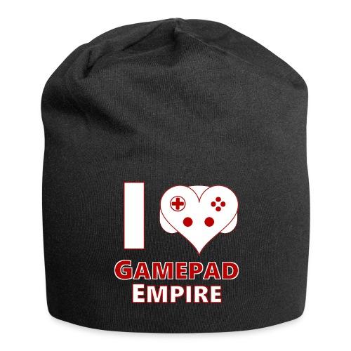 Mütze mit I ♥ GPE-Design - Jersey-Beanie