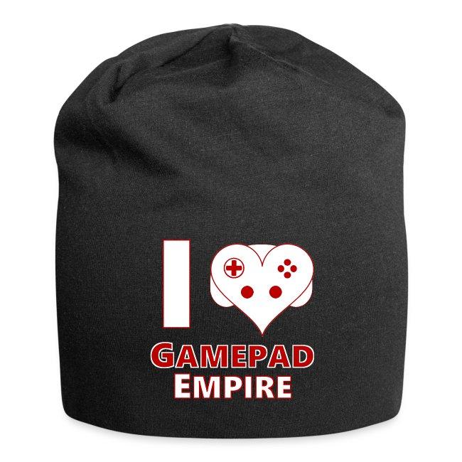 """Mütze mit """"I ♥ GPE""""-Design"""