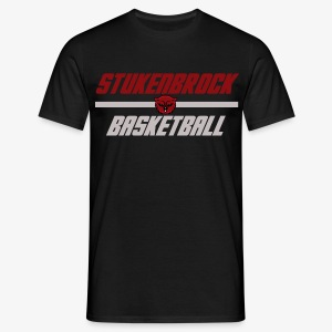 Stukenbrock Basketball black - Männer T-Shirt