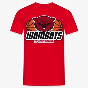 Wombats Boys red - Männer T-Shirt