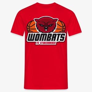 Wombats Boys red - Männer T-Shirt