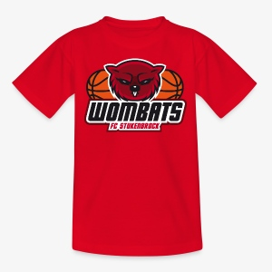 Wombats Kids red - Kinder T-Shirt