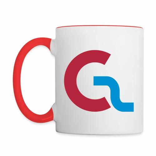 GameSpinnerz-mugg - Tvåfärgad mugg