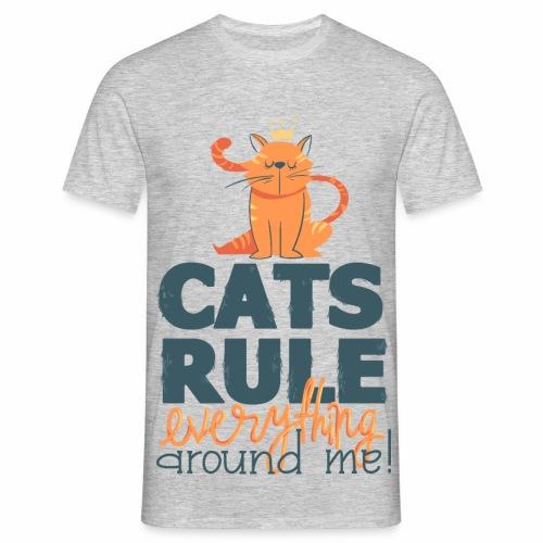 Cats Rule - Männer T-Shirt