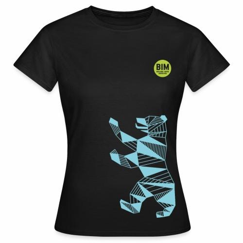 BIM T-Shirt Woman - Schwarz - Frauen T-Shirt