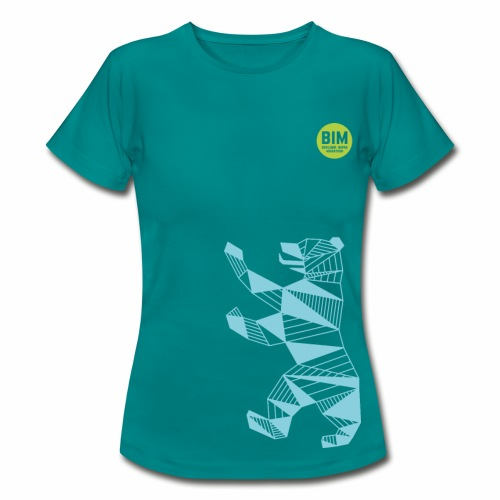 BIM T-Shirt Woman - Divablau - Frauen T-Shirt