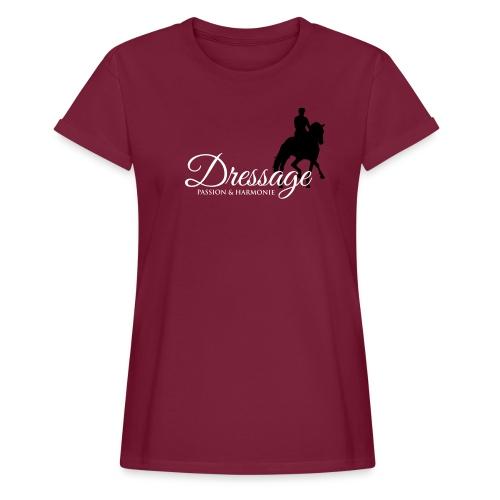 HOLZPFER.DE Dressage 2 - Frauen Oversize T-Shirt
