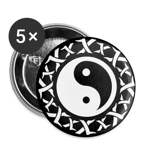 5 pack knappar 1 - Stora knappar 56 mm (5-pack)