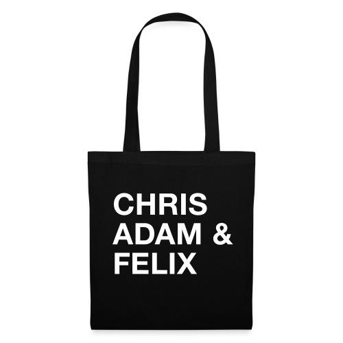 Chris, Adam & Felix - Stoffbeutel